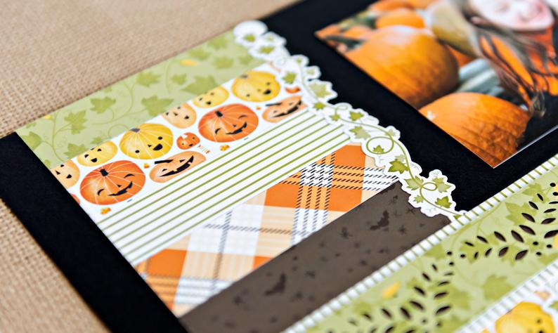 Pumpkin-Spice-Halloween-Scrapbook-Layout-Closeup1-Creative-Memories