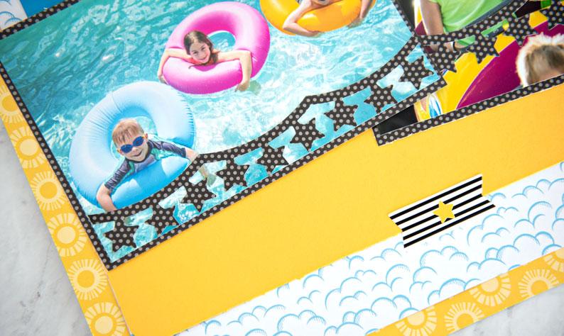 Star-Banner-Chain-Scrapbook-Border-Maker-Cartridge-Layout-Creative-Memories2