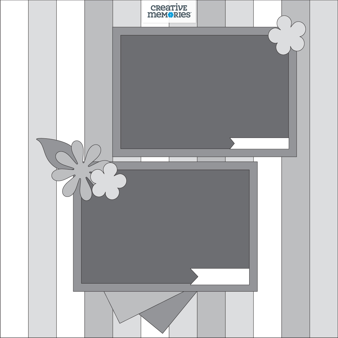 Flourish-Scrapbook-Sketch-Layout-Creative-Memories