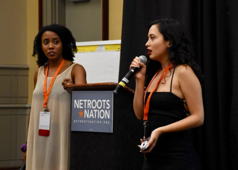 Speakers at Netroots Nation 2019