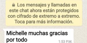 CRI Congresos Michelle Morales