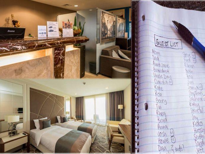 El Room list en eventos