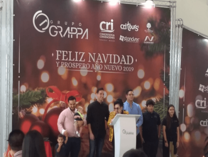 Jessica Gasca Comida Grupo Grappa 2018