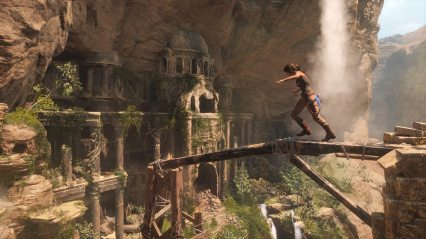 Lara Croft dans Rise of the Tomb Raider