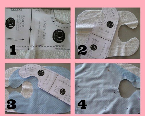 sew baby bib croft mill fabric