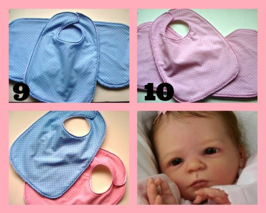 Baby bib free download pattern croft mill fabrics