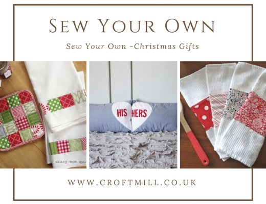 sew your own Christmas gifts