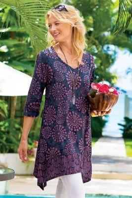 batik fabric dress