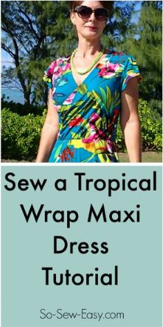 sew a wrap dress