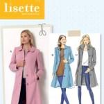 LISETTE 6385 - FITTED COAT