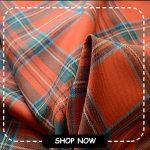 100% British Wool Tartan