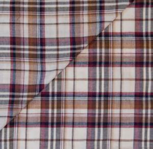 Croft mill fabrics un even Tartan