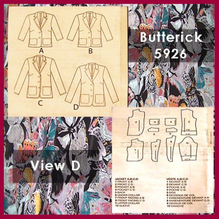 Butterick B5926 croft mill.co.uk