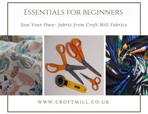 Beginner sewinf essentials