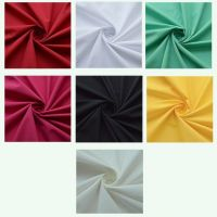 Range of plain 50/50 poly/cottons