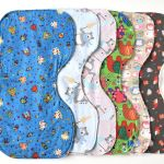 Sew your own baby burp cloth