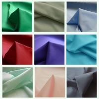 Croft Mill Fabrics range of plain poly cottons.