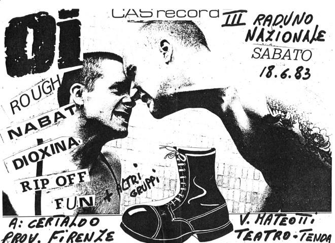 Flavio Frezza parla del raduno Oi! di Certaldo