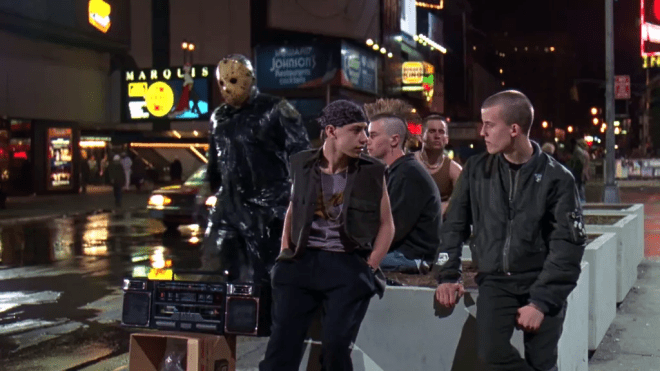 "Jason Voorhees in ""Venerdì 13 parte VIII - Incubo a Manhattan"""