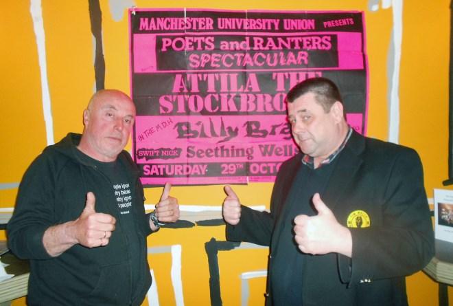 Attila the Stockbroker con Tim Wells