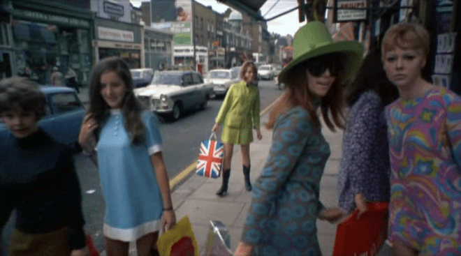 La Swinging London: Carnaby Street