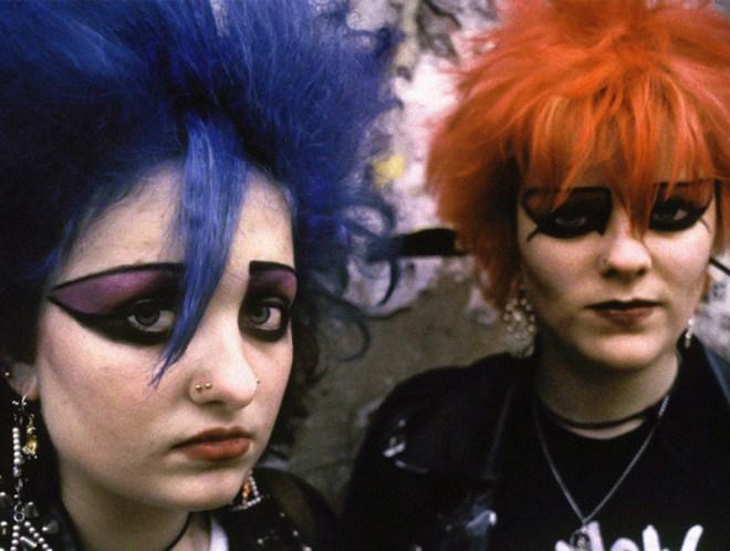 UK 82 punk girls