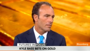 kyle bass bets on gold