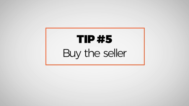Preowned Watch Buying Tip Number 5: Buy the seller