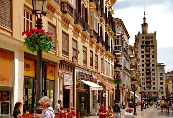 Calle Larios - Cruceros baratos desde Málaga