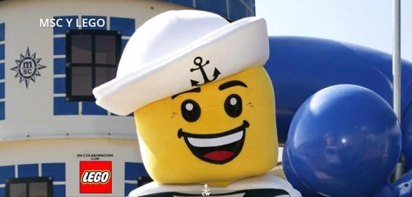 LEGO a bordo de MSC Cruceros