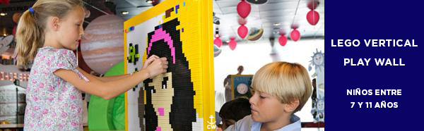 LEGO vertical Play Wall