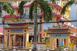 Sa DEC Cao Dai Temple