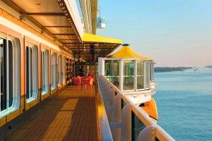 Deck on Costa Diadema