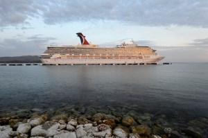Carnival Vista in the Caribbean