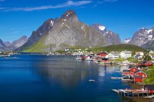 Norwegian Cruise Scenery