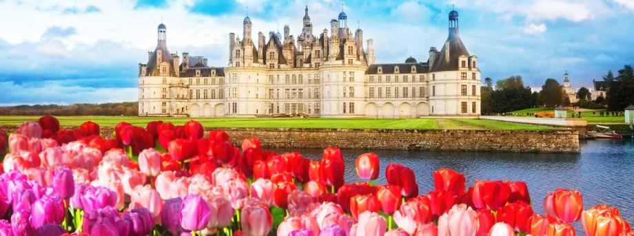 Chambord Chateau Pays-de-la-loire, France