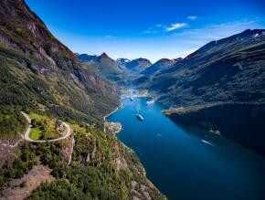 Geiranger fjord,