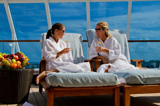 Treat yourself to spa treatments