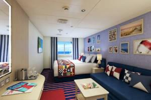 Carnival Vista Family Harbour Suite