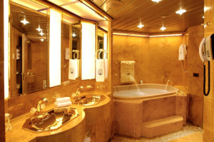 Holland America Oosterdam Pinnacle Suite Bathroom