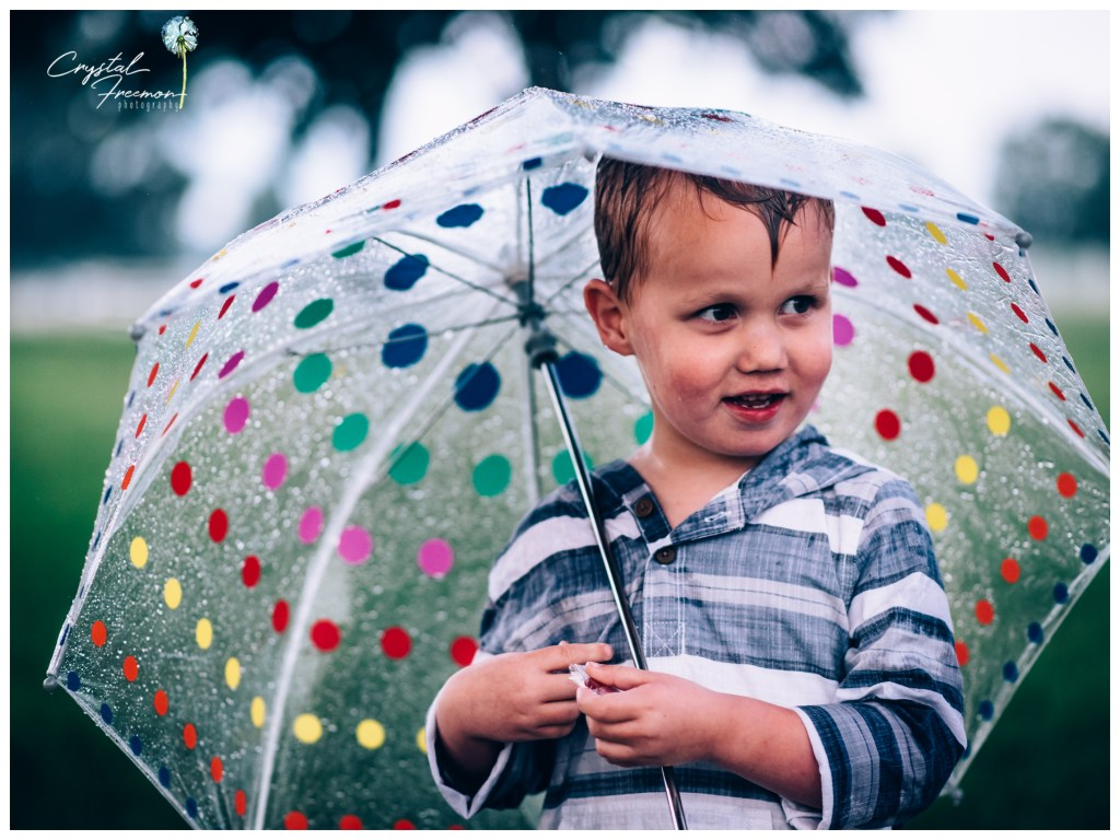Embracing the Rain - Nashville Family Portrait Session