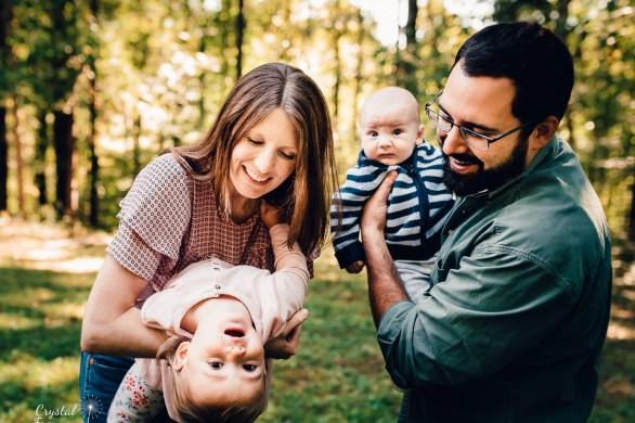 Nashville Family Photographer - family of four