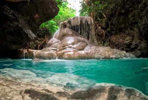 VISIT THE STUNNING AGUINID FALLS
