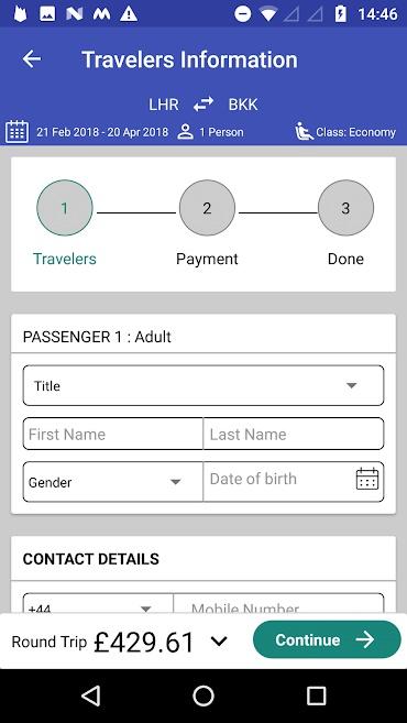 Passenger detail