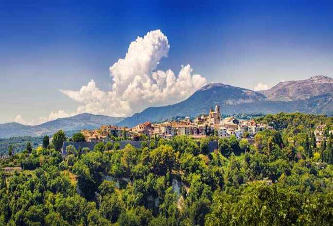 Cagnes-sur-Mer, Provence, France
