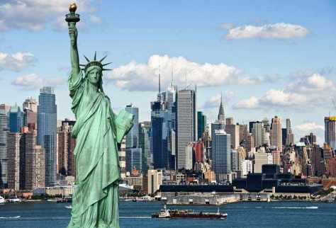 Salute the Statue of Liberty and enjoy the views from the Crown