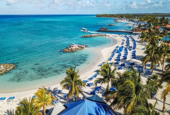 Beaches in Bahamas