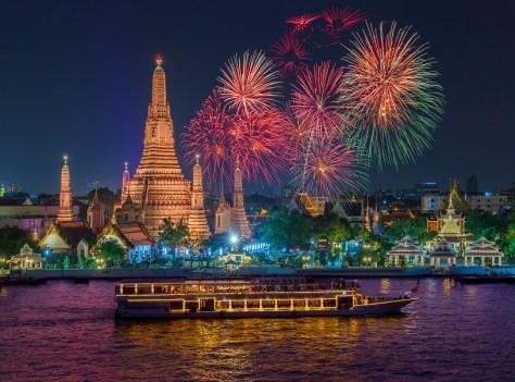 Bangkok on New Year