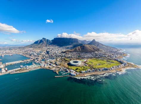 Cape Town on New Year