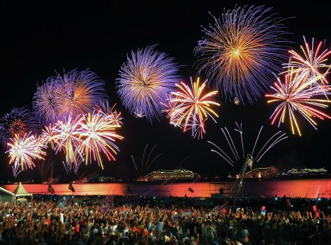 Rio De Janeiro on New Year
